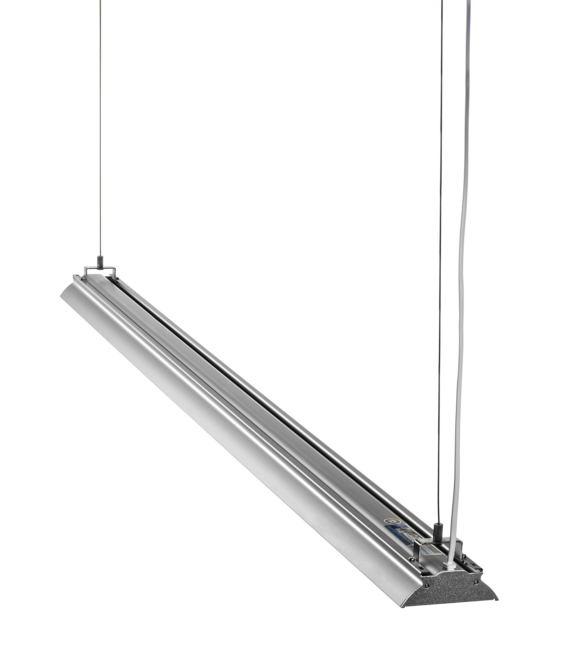 HyperSelect Utility LED Shop Light, 4FT Integrated LED Fixture Garage Light, DLC 4.2 Premium Qualified, 35W (100W Eq.), 3800 Lumens, 4000K (Daylight Glow), Frosted Cover, Corded-electric by Hyperikon (Image #9)