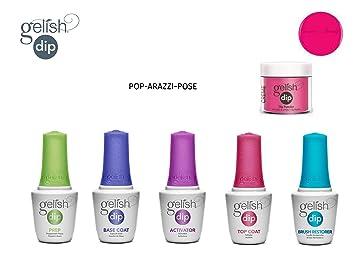 Gelish Dip Powder Starter Kit Pop Arazzi Pose