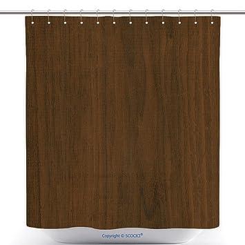 Polyester Dusche Vorhänge Braun Linoleum Nachahmung von Holz Textur ...