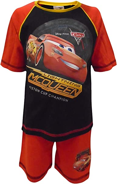 Disney Cars Lightning Mcqueen Long Sleeve Football Shirt Boy Size 5