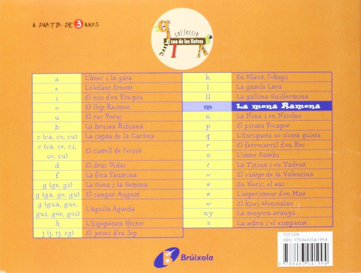 La mona Ramona m : Juga amb la m Catalá - A Partir De 3 Anys - Llibres Didàctics - Zoo De Les Lletres: Amazon.es: Beatriz Doumerc, Tría 3, Susanna Esquerdo ...