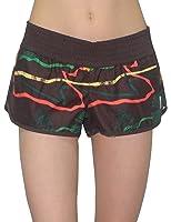 Rip Curl Womens Casual Beach & Surf Summer Shorts - Brown