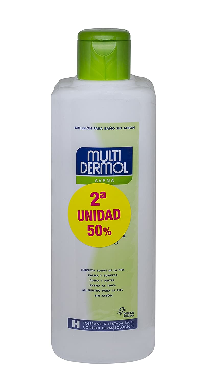 Multidermol Gel de Avena para la Ducha - Paquete de 2 x 750 gr - Total: 1500 gr: Amazon.es: Salud y cuidado personal