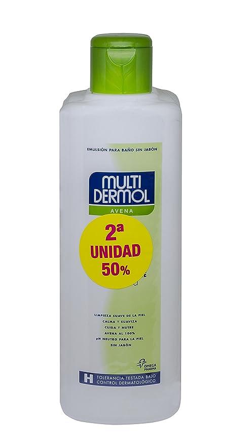 Multidermol Gel de Avena para la Ducha - Paquete de 2 x 750 gr - Total