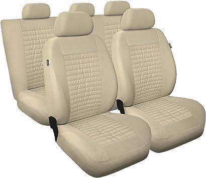 Universal Autositzbezüge für Nissan X-Trail 1+1 Vordersitze Grau Sitzbezug Bezug