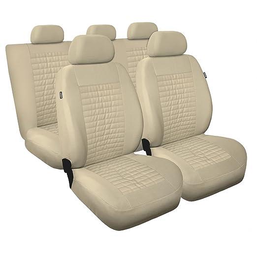 Sitzbezüge Sitzbezug Schonbezüge für Hyundai Getz Schwarz Modern MP-1 Set
