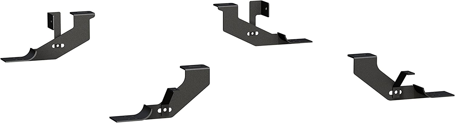 ARIES 4491 Mounting Brackets for 6-Inch Oval Nerf Bars Sold Separately