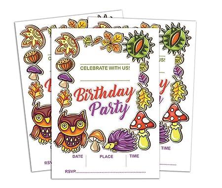 Darling Souvenir Multicolor invitación del cumpleaños ...