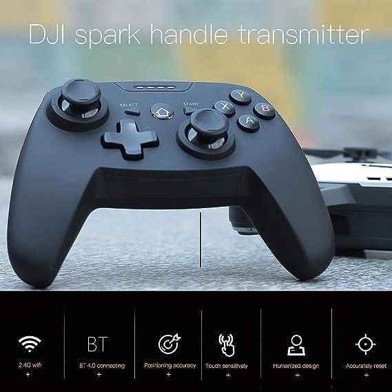 Goolsky T/él/écommande pour DJI Spark Drone Radiocommande DJI Tello Manette sans Fil /Émetteur 2,4G avec Support de T/él/éphone
