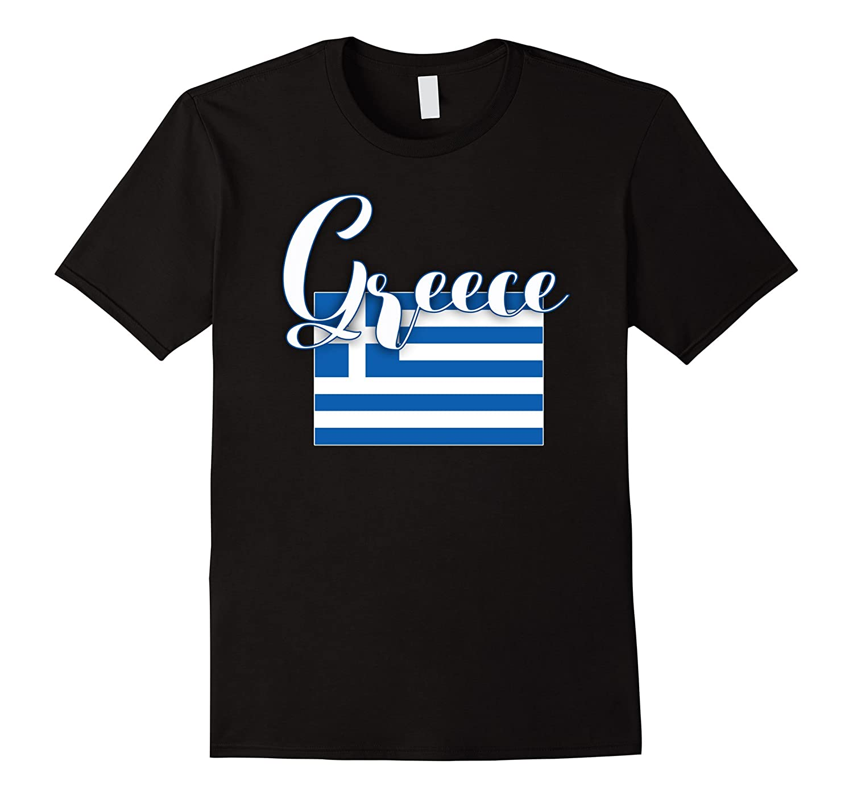 Greece Flag Shirt Greece Tshirt-BN
