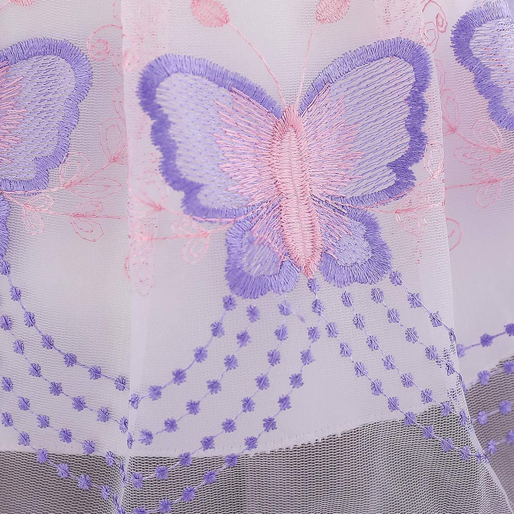 Jup'Elle Baby Girl First 1st Birthday Dresses Pageant Party Wedding Flower Girl Pink Lavender Purple Dress 6-12 Months