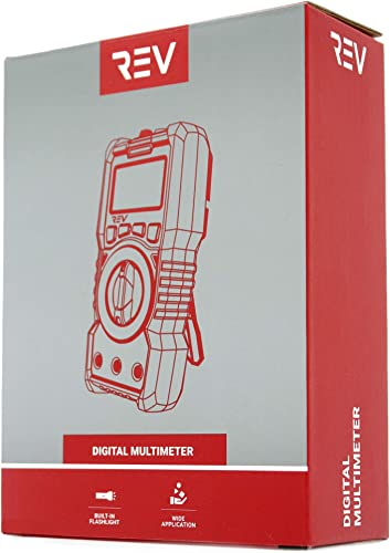 VViViD REV Digital Multimeter Voltage Tester 6000 Count