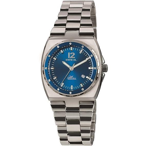 Breil Reloj Analogico para Mujer de Cuarzo con Correa en Acero Inoxidable TW1545: Amazon.es: Relojes
