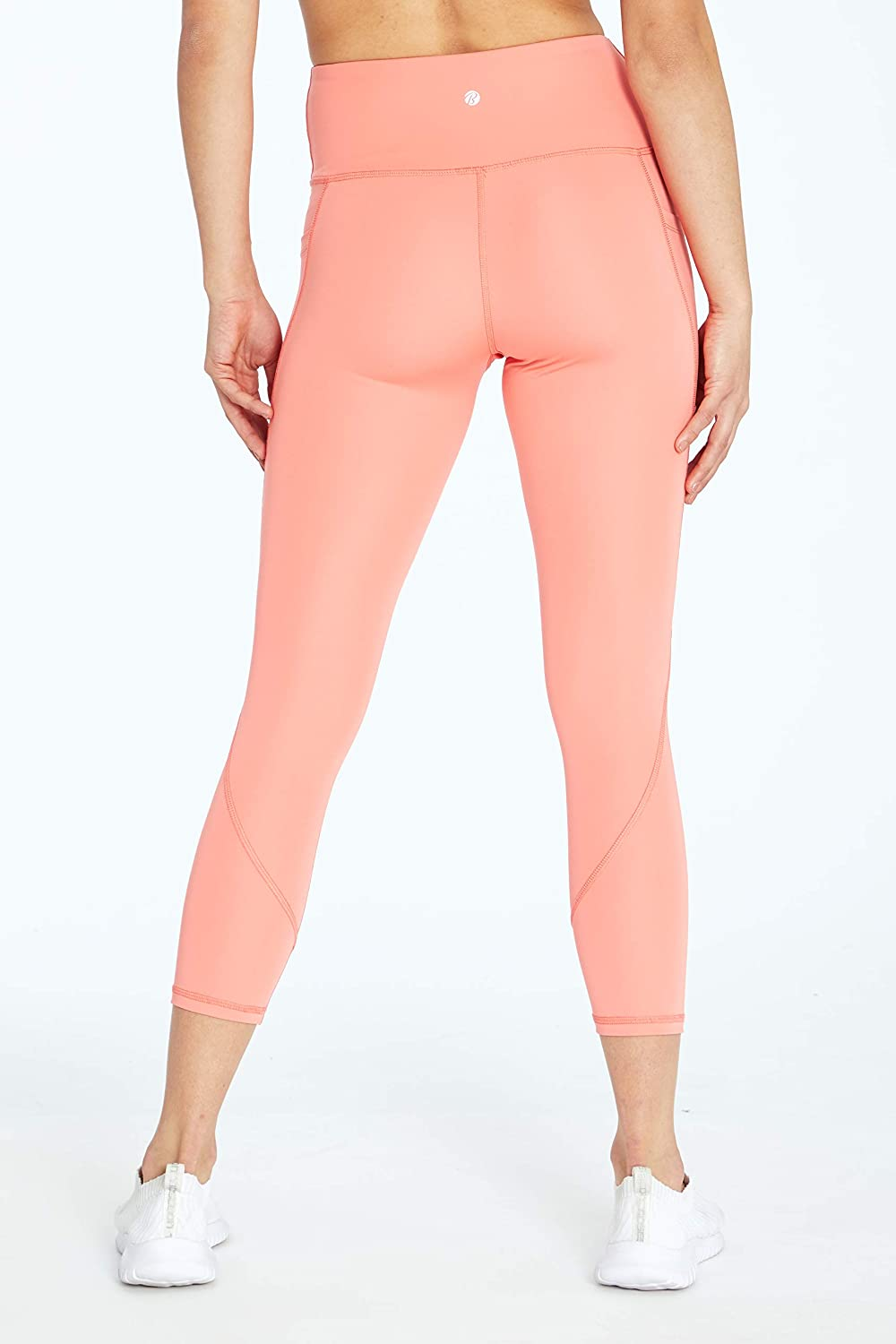 Bally Total Fitness Womens Kimmy High Rise Mid-Calf Legging : Clothing