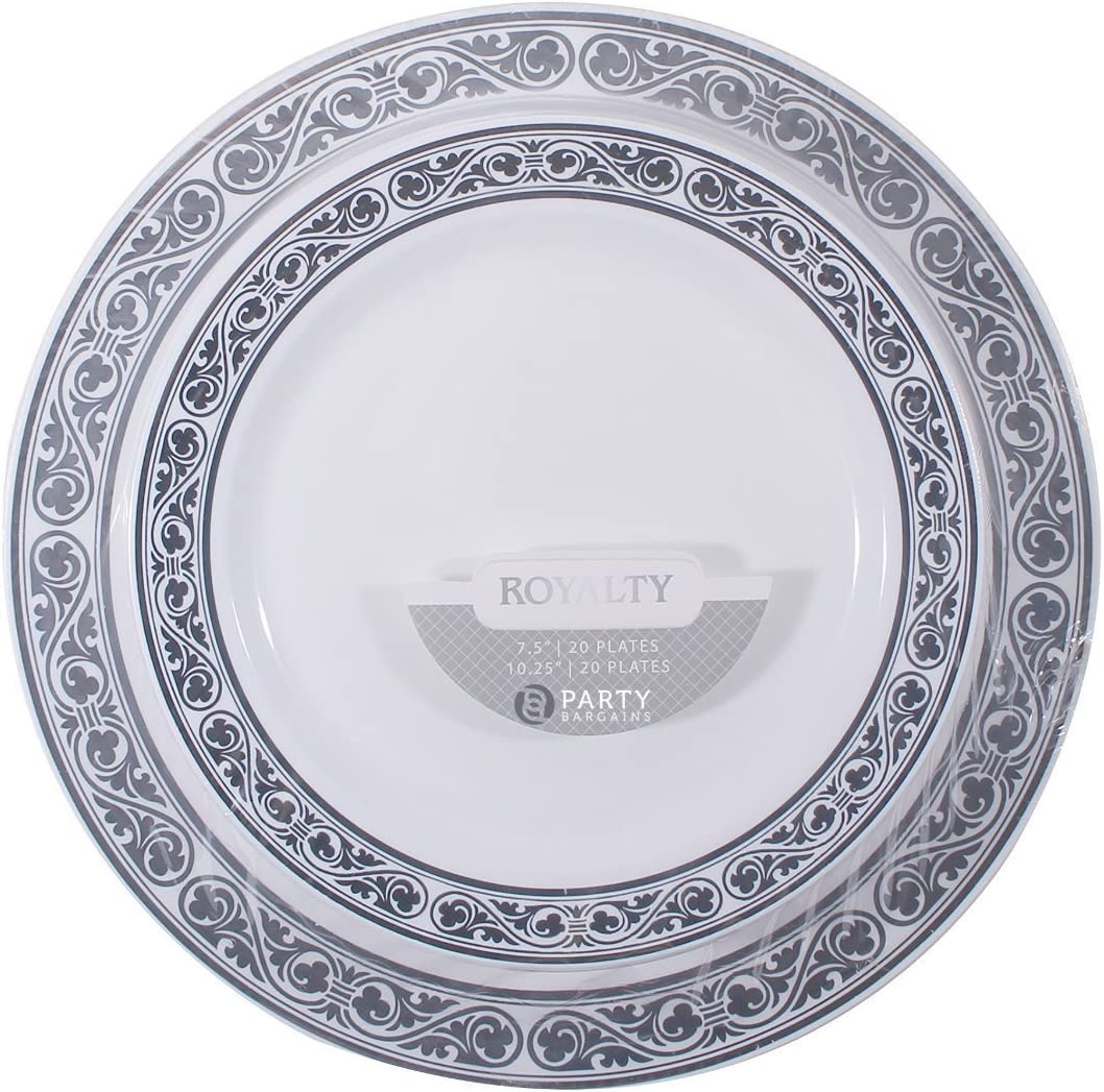 100 Count 9 Inch White Dinner Plates Birthdays /& More Heavyweight /& Premium Quality Dinnerware for Weddings Bridal Showers Engagement Parties Disposable Dinner Plates