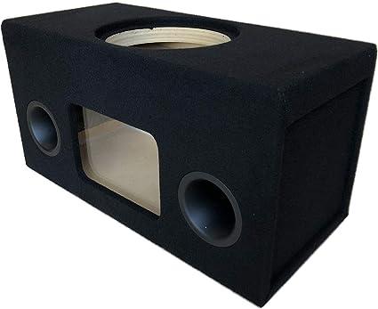 "Custom Ported Sub Box Enclosure for 1 12/"" Sundown U Series Sub ~Plexiglass~ 32Hz"