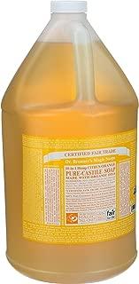 product image for Org Citrus Orange Oil Castile Soap-3.78 LTR Brand: Dr. Bronners Magic Soap
