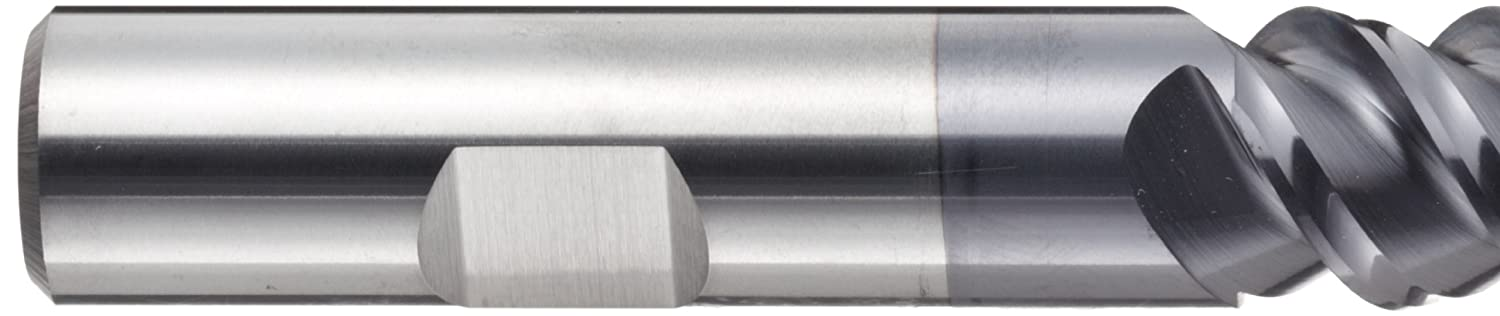 YG-1 E5246 Carbide Square Nose End Mill 60 Deg Helix Non-Center Cutting 2 Overall Length 0.1875 Shank Diameter TIALN Multilayer Finish 3 Flutes 0.1875 Cutting Diameter