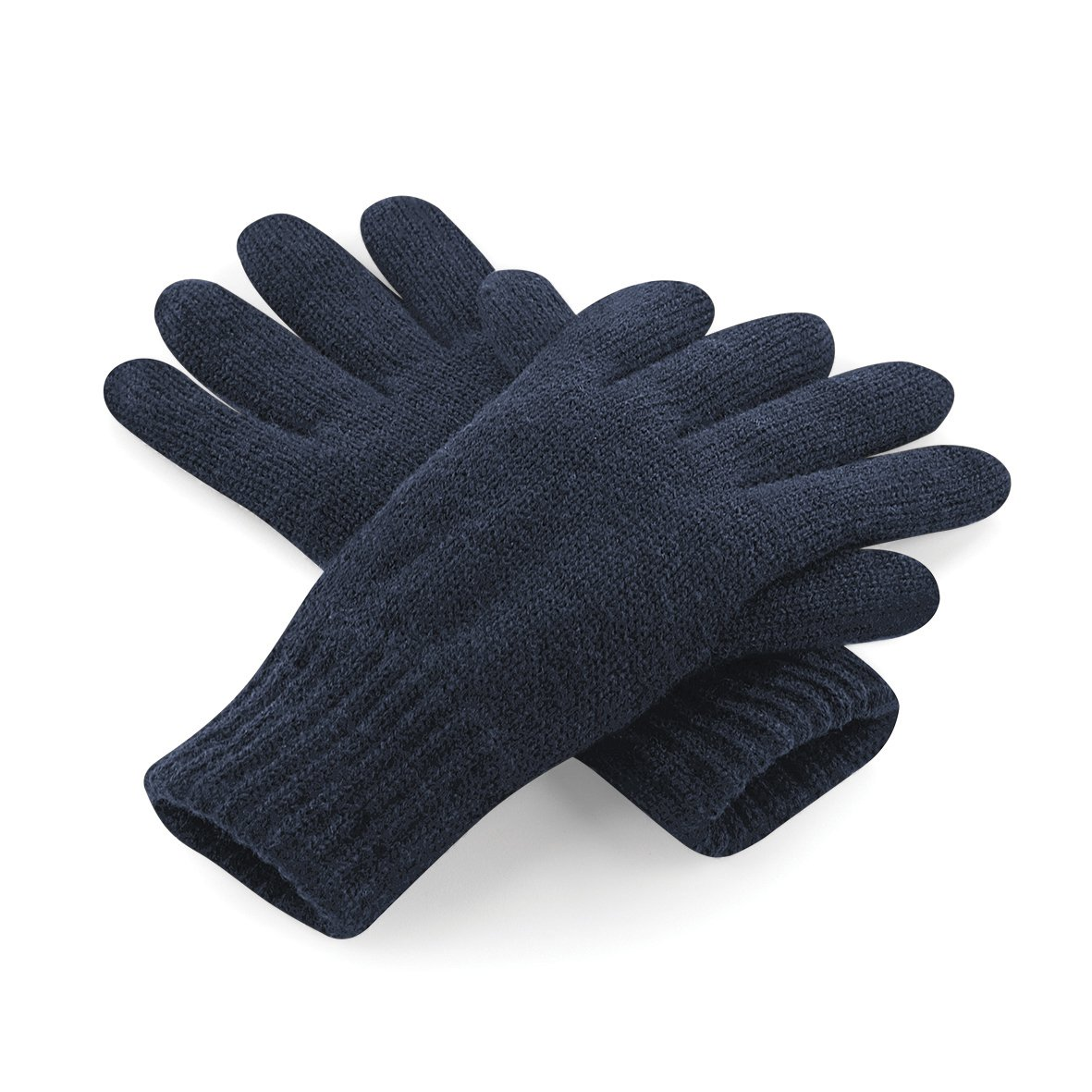 Beechfield Unisex Classic Thinsulate Thermal Winter Gloves (L/XL) (French Navy) UTRW3671_3