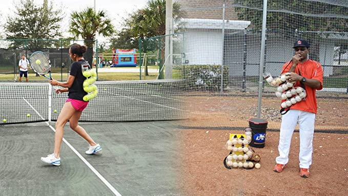 Amazon.com: SPEEDFEED Tennis Ball Feeder Training Tool ...