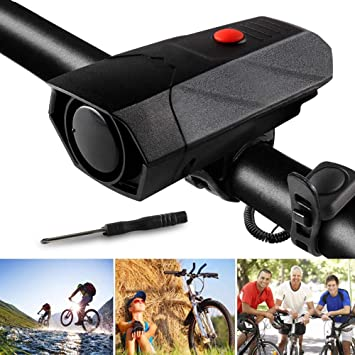 LED Bicycle Taillight Waterproof Brake Light USB Charging PC Material Set ♥
