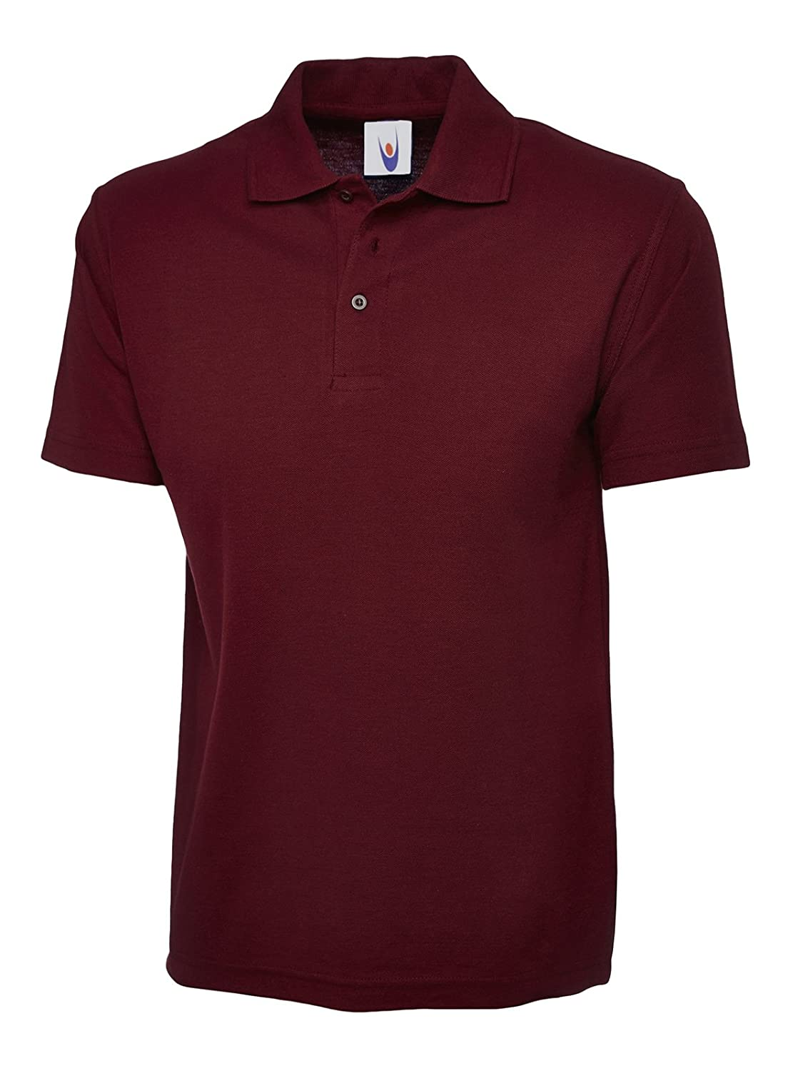 Uneek Clothing-Kids-Childrens Poloshirt-220 gsm-Maroon-11/13 Yrs 103MR11