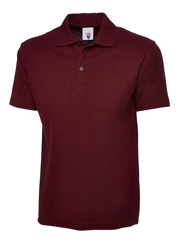 Uneek clothing-Mens-Olympic poloshirt-175 gsm Polo - Rojo ...