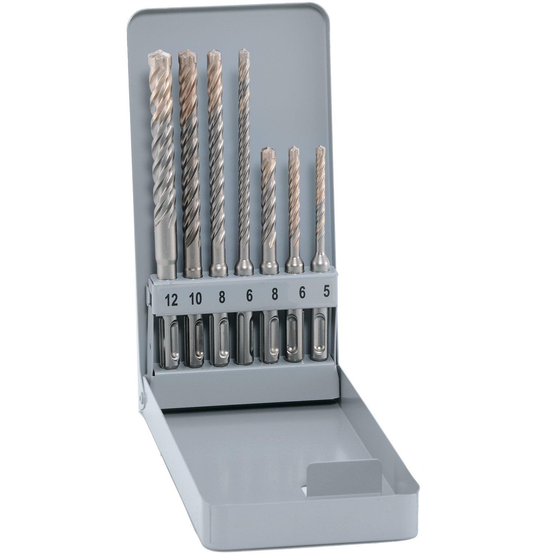 alpen SDS-Plus Hammerboher F8 extreme, 4 Schneiden, Durchmesser 5,5 mm, Lä nge 110 x 50 mm, 80600550100