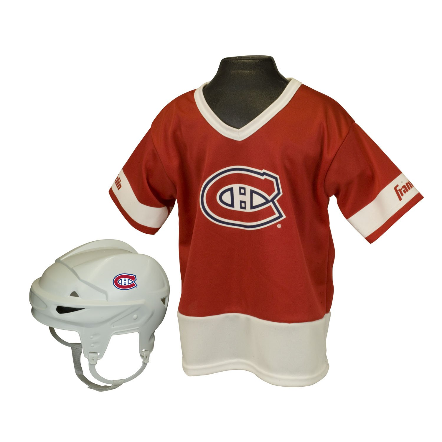 Franklin Sports NHL Detroit Red Wings Youth Team Uniform Set ... 86357d420
