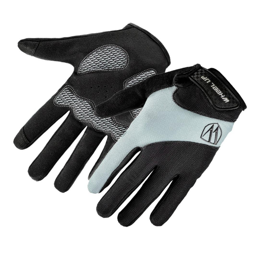 Chartsea Wheel up Full Bike Finger Screen Cycling Bicycle Gloves Anti-Slip Breathable