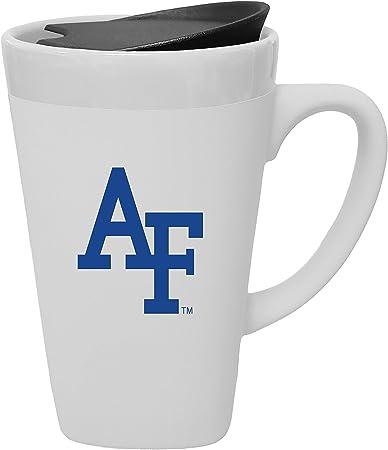 The Fanatic Group Texas Tech University Porcelain Mug with Swivel Lid Design 1