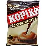 Kopiko Cappuccino Flavor Strong & Rich Coffee Candy Net Wt 120 G (40 Pellets.) X 2 Bags