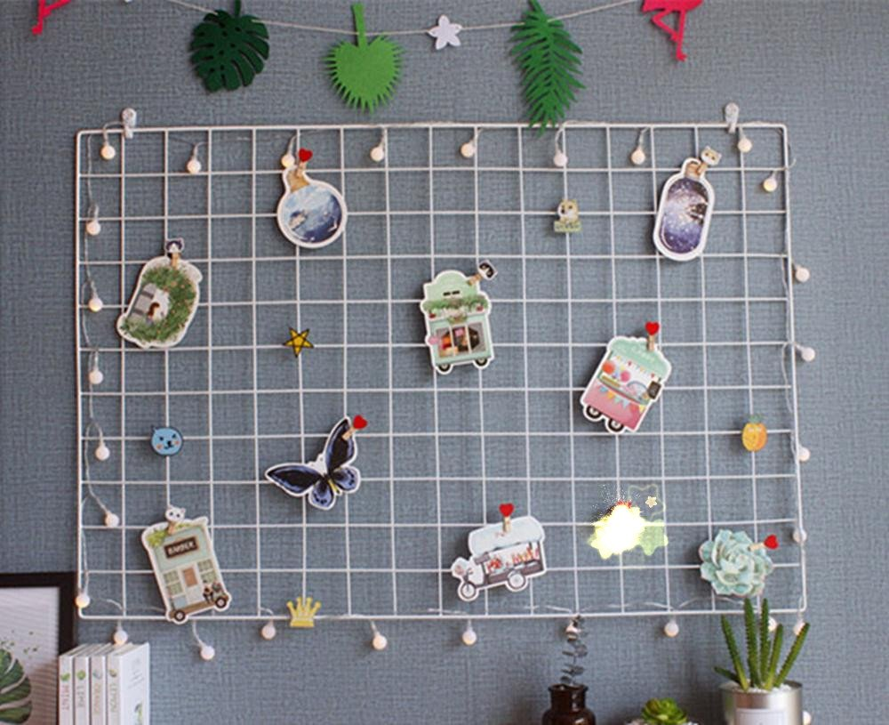 Eisen Gitter Foto Wand einfache Dekoration Plaid kreative ...