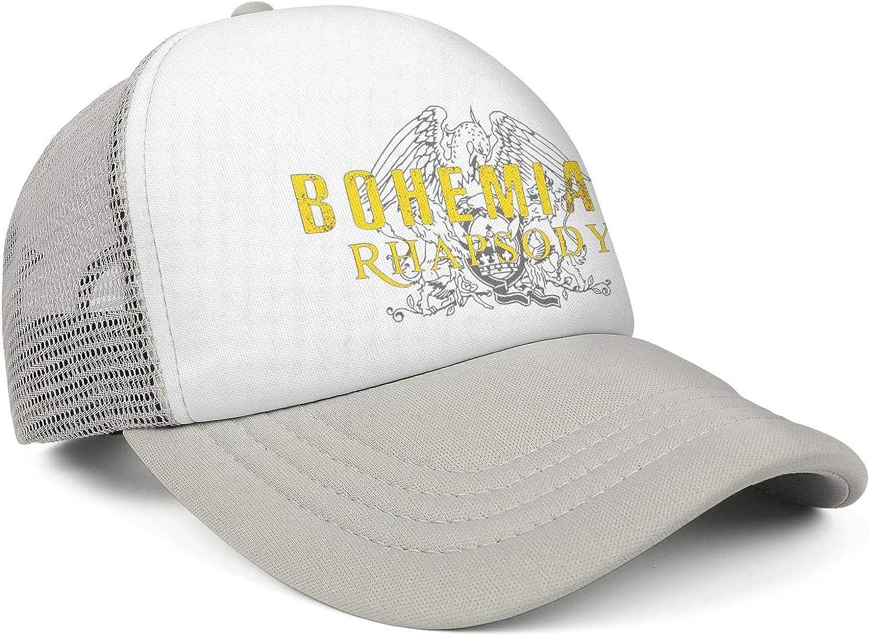 Mens Womans Queen-Band-Freddie-Mercury-Shirt,-Queen-British-Rock-Band-Hoodie Cap Stylish Hat Baseball Caps