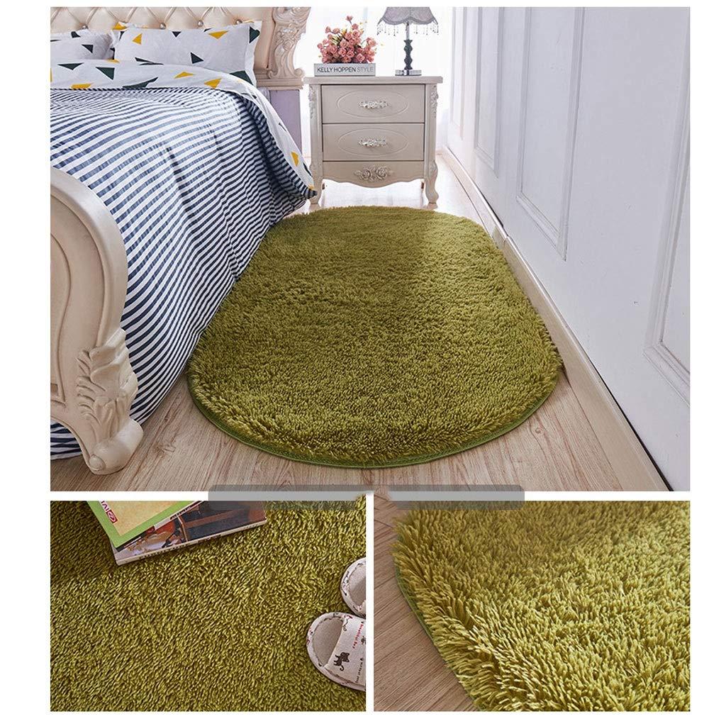 フロアマット カーペットマット、家、リビングルーム、ベッドルーム、玄関、キッチン 子供部屋の装飾 (色 : 緑, サイズ さいず : 200×300cm)   B07RBV7RZ2