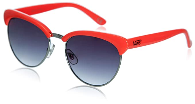 Gafas De Sol Vans - Semirimless Naranja Neón: Amazon.es ...