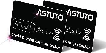 Tarjeta de crédito de RFID protetors