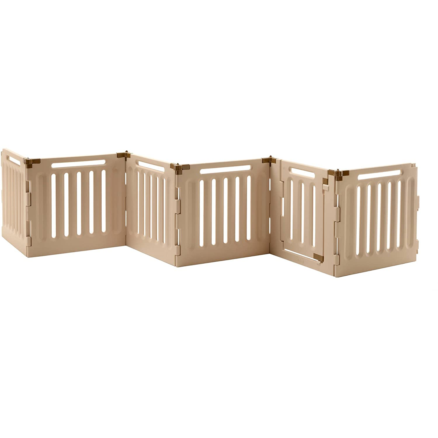 Richell 94906 Plastic Pet Playpens Kennels and Gates