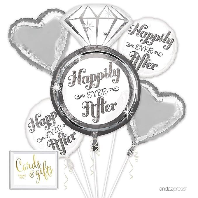 Amazon.com: Andaz Press - Ramo de globos para boda, bebé ...