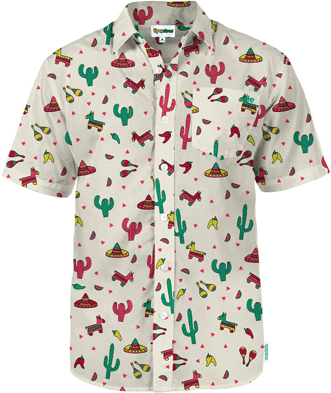80s Men's Clothing | Shirts, Jeans, Jackets for Guys Mens Bright Hawaiian Shirts for Spring Break and Summer - Aloha Shirt for Guys $39.95 AT vintagedancer.com