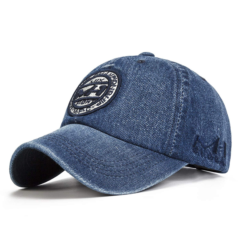 Eric Carl Snapback Cap Demin Baseball Cap 5 Color Jean Embroidery Hat for Men Women Boy Girl Cap