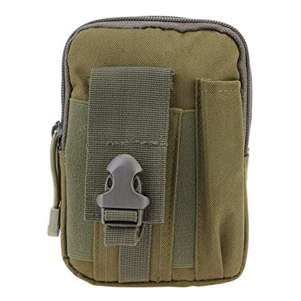 d279819d24a13b Goodfeng 600D Molle Waist Bag Waterproof Fanny Pack Mobile Phone Case  Outdoor Pouch Camouflage Equipment Accessory
