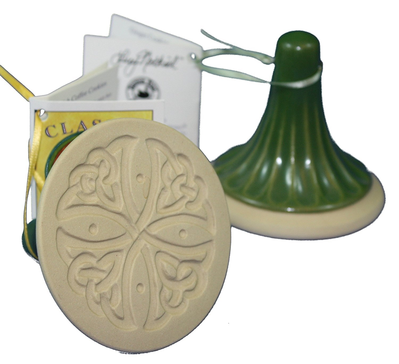 Brown Bag Celtic Cross Cookie Stamp - British Isle Series COMINHKR071506