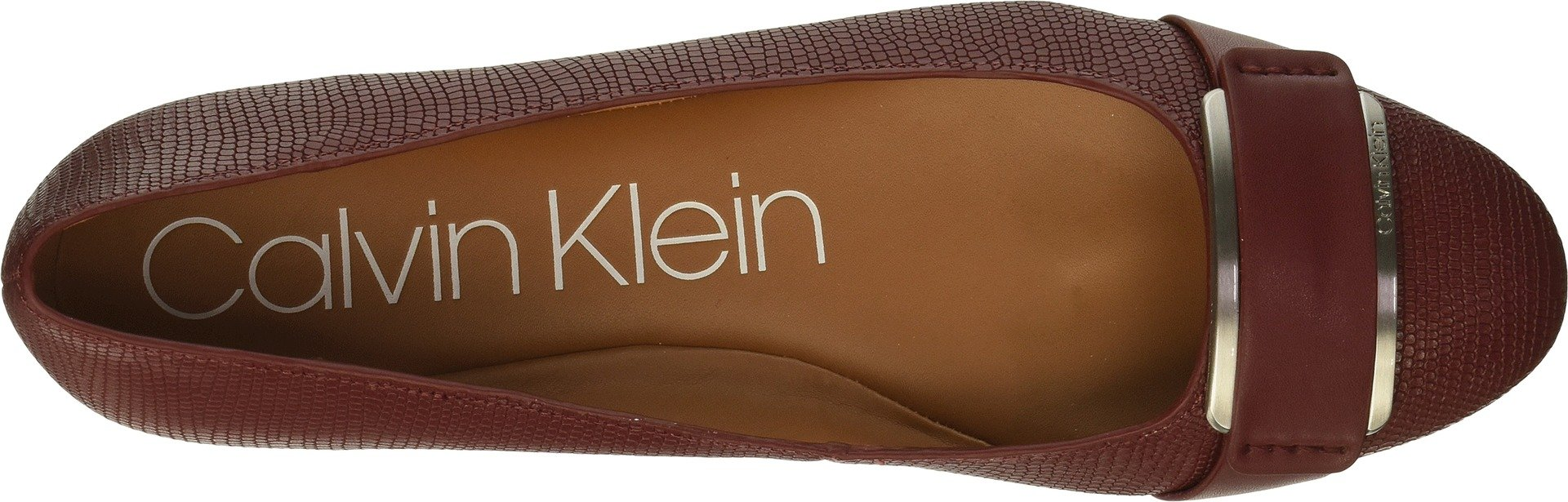 Calvin-Klein-Women-039-s-Oneta-Ballet-Flat-Black-5-M-Choose-SZ-color thumbnail 10