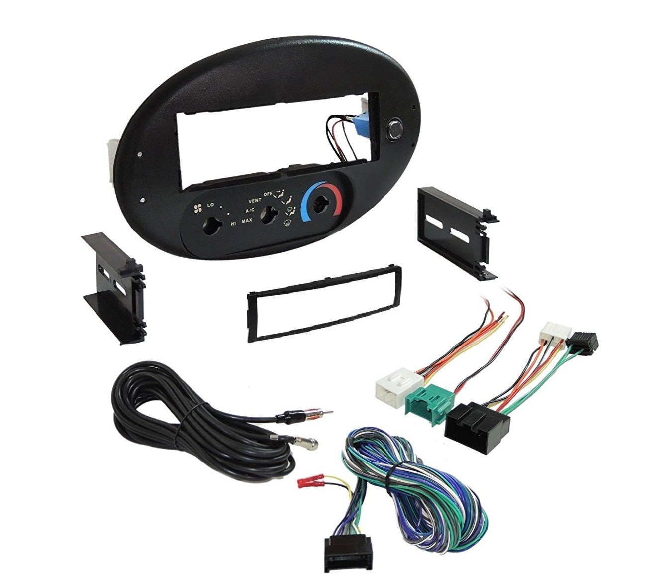 Amazon.com: Car Radio Stereo CD Player Dash Install Mounting Trim Bezel  Panel 1996-1999 Ford Taurus/Sable Dash Kit: Car Electronics