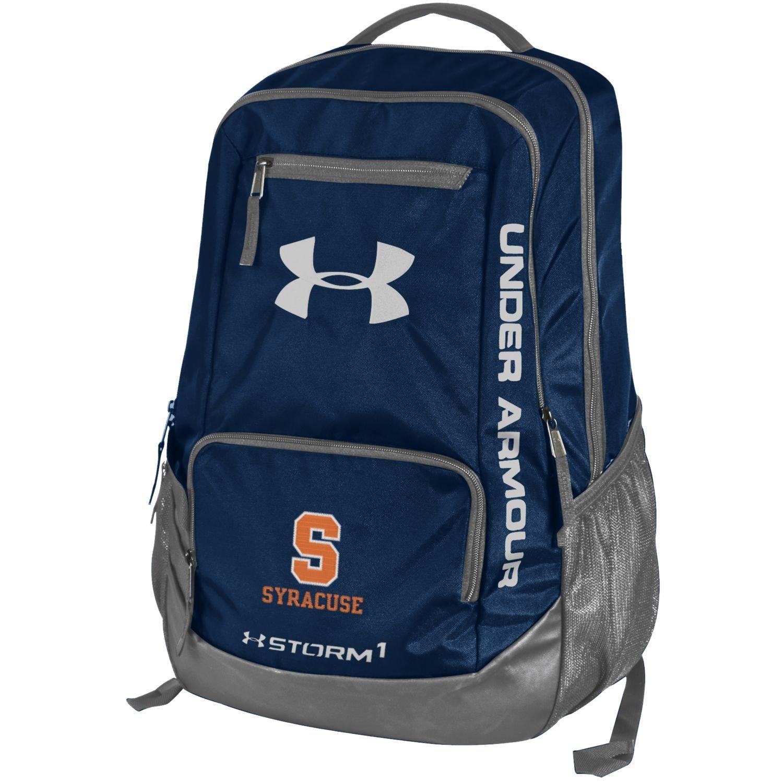 ncaa syracuse orange hustle storm 1 backpack one