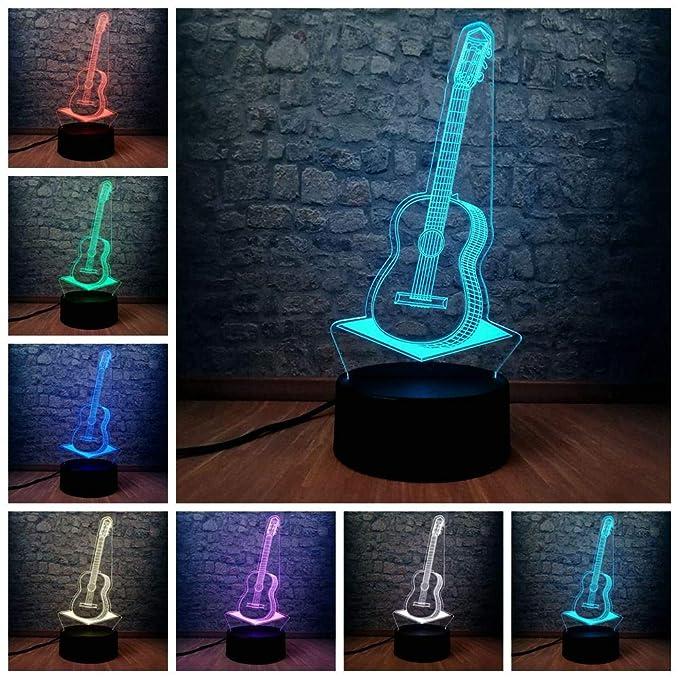 Lámpara de ilusión 3D Orangeww/Control remoto/Lámpara de ...
