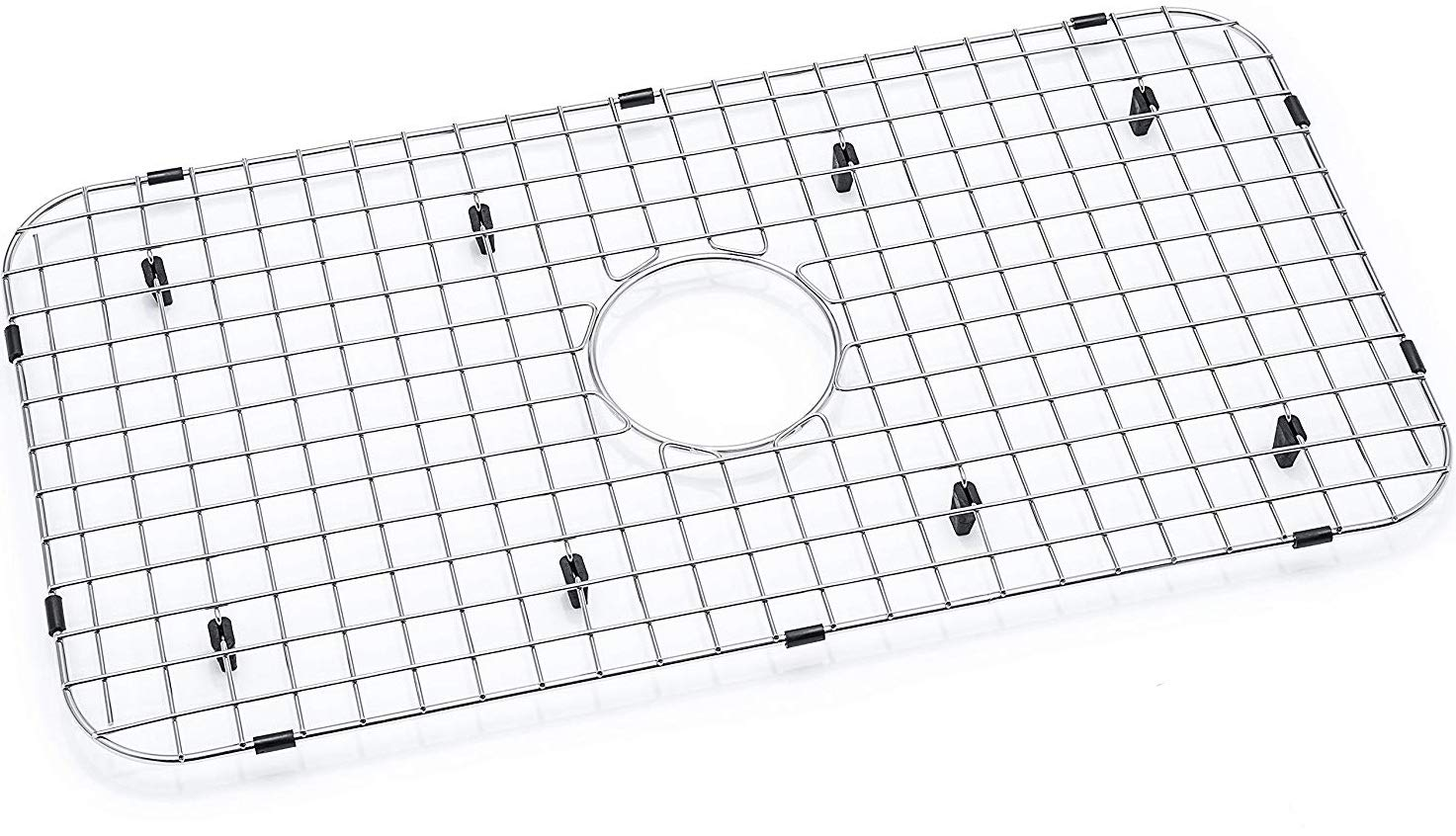 Kitchen Sink Grid - Premium Sink Bottom Grid - Stainless Steel - Sink Size Minimum 27 1/4'' x 14 1/4'' - Protect Your Sink from Scratches - Rust-resistant Metal