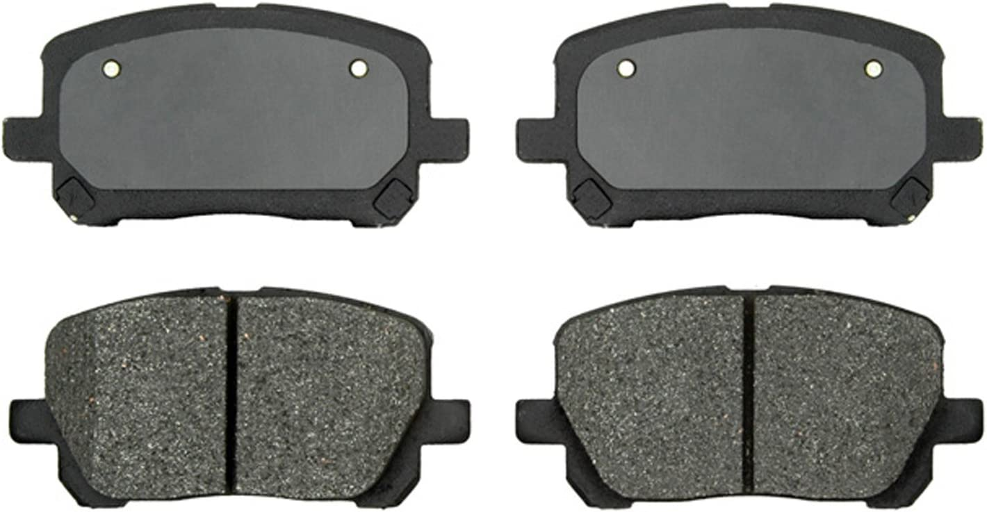ACDelco 17D52MH Front Semi Metallic Brake Pads