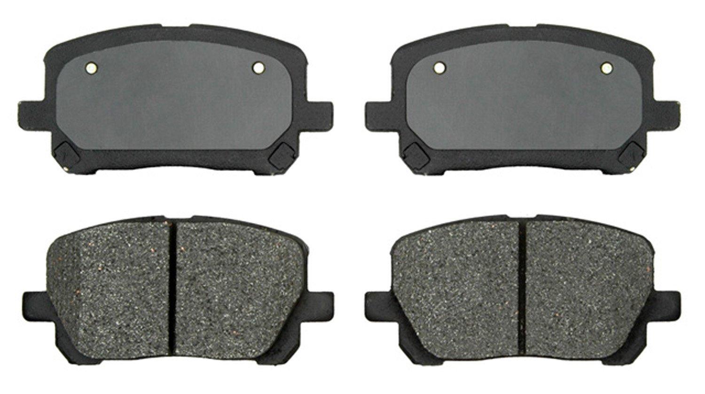 ACDelco 17D923M Professional Semi-Metallic Front Disc Brake Pad Set
